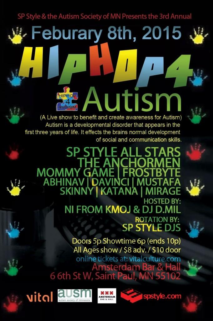 hiphop4autism flyer