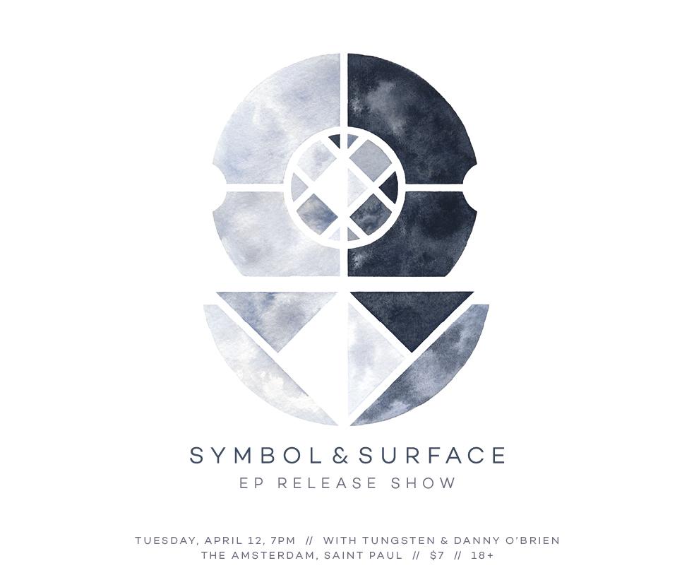 Symbol Surface Ep Release W Tungsten Danny Obrien Amsterdam